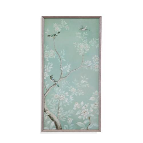 Bassett Mirror Company - Birds & Flowers I