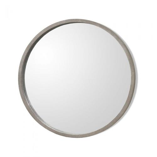 Como Mirror - Grey Shagreen