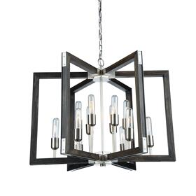 GATEHOUSE 12 LT CHANDELIER