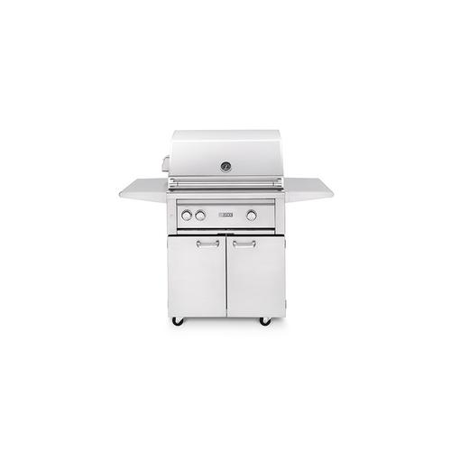 """30"""" Freestanding Grill with Trident Burner and Rotisserie (L30PSFR-2) - Natural gas"""