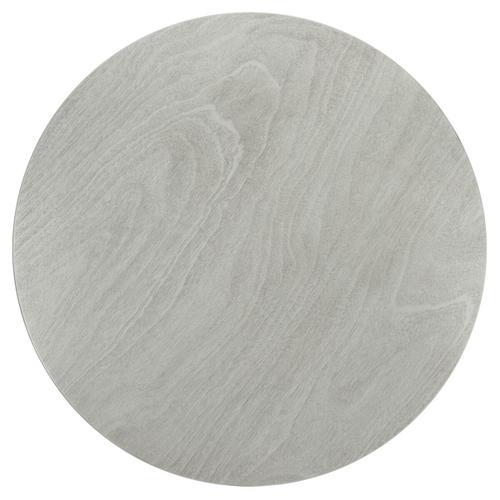 Nicolai Round Dining Table - Dark Grey / Matte Black