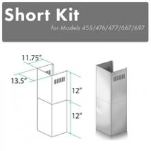 "ZLINE 2-12"" Short Chimney Pieces for 7 ft. to 8 ft. Ceilings (SK-455/476/477/667/697)"