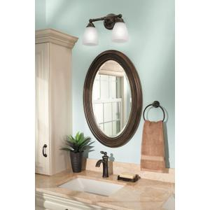 Brantford oil rubbed bronze towel ring
