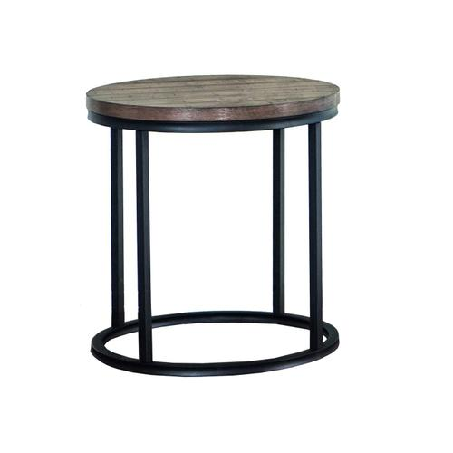 7328 Round End Table