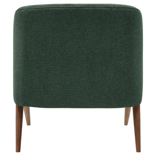 Product Image - Florence Fabric Accent Chair Brown Legs, Havana Green