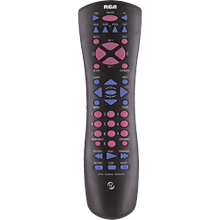 6 device universal satellite and cable box remote
