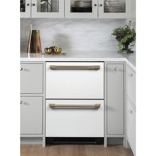Gallery - Café™ Undercounter Refrigeration Handle Kit - Brushed Bronze