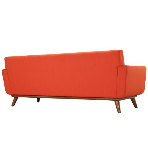 Modway - Engage Armchairs and Sofa Set of 3 in Atomic Red