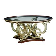 Bossa Nova Round Cocktail Table
