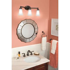 Eva oil rubbed bronze bath light
