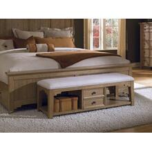 Chattered Oak Bed Bench