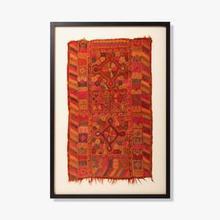 See Details - 0321330060 Vintage Rug Fragment Wall Art