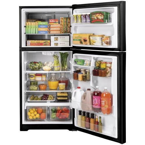 GE® ENERGY STAR® 19.2 Cu. Ft. Top-Freezer Refrigerator