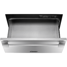 """See Details - 24"""" Pro Warming Drawer, Silver Stainless Steel"""