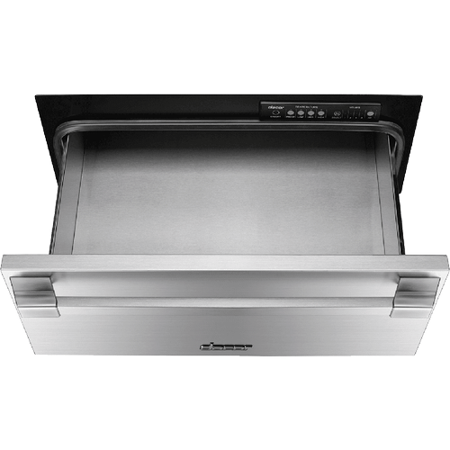 "24"" Pro Warming Drawer, Silver Stainless Steel"
