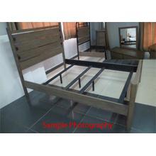 Twin Poster Bed, Dresser & Mirror