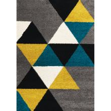 Maroq 5741 Grey Teal Yellow 2 x 8