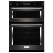 "30"" Combination Wall Oven with Even-Heat™ True Convection (Lower Oven) - Black Stainless Steel with PrintShield™ Finish / New Unopened Box / Excess Inventory / Pick Up Only / Linthicum MD / CNTR ID:367111"