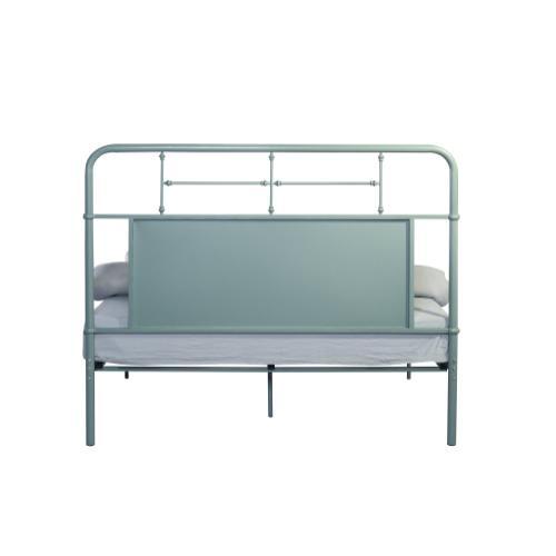 Emerald Home Fairfield Metal Bed Eucalyptus Green B202-10hbfbrgrn
