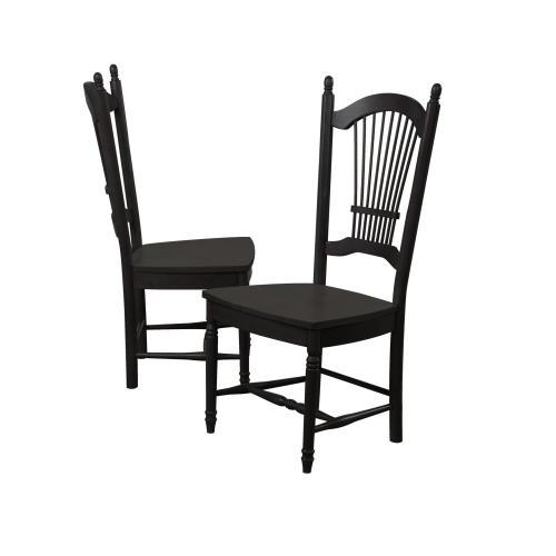 """Allenridge Dining Chair - Antique Black (42"""")"""