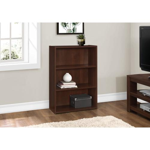 """Gallery - BOOKCASE - 36""""H / CHERRY WITH 3 SHELVES"""