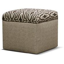 2F0081N Parson Storage Ottoman with Nails