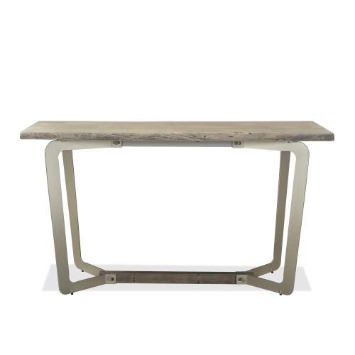 Waverly - Sofa Table - Sandblasted Gray Finish