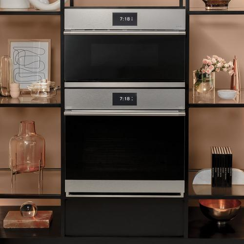 """Café 30"""" Single Wall Oven with Convection Modern Glass"""