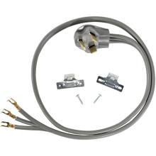 3-Wire Open-End-Connector 30-Amp Dryer Cord, 4ft
