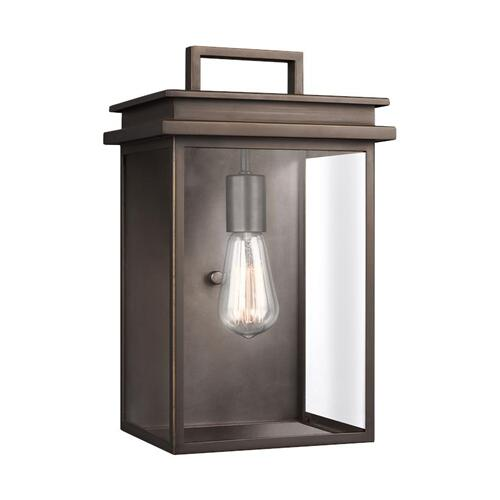 Glenview Medium Lantern Antique Bronze