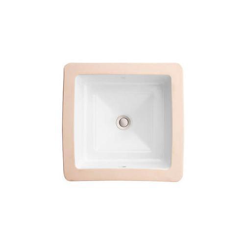 Dxv - Pop Petite Square Under Counter Bathroom Sink - Canvas White