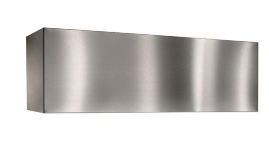 Optional Decorative soffit flue extensions for the WP28 Range Hood