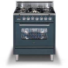 See Details - Inch Freestanding Range in Blue Grey with Trim