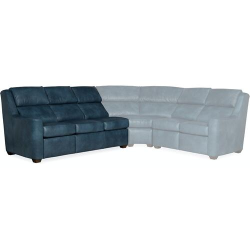 Bradington Young - Bradington Young Loewy LAF Sofa Recline At Arm w/Articulating Headrest 941-61