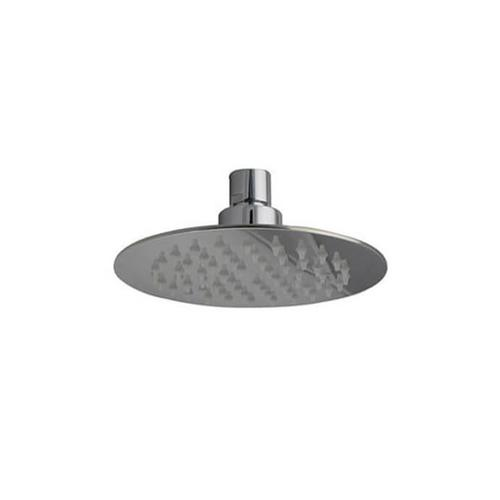 """Mountain Plumbing - 6"""" Round Rain Head with Air-Injected Ball Joint for Shower Head - Polished Nickel"""