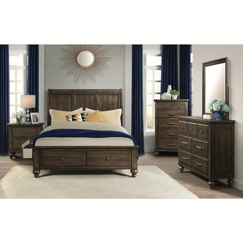 Elements - Chatham Grey Storage Bedroom