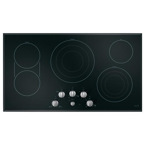 "Cafe - Café™ 36"" Knob-Control Electric Cooktop"
