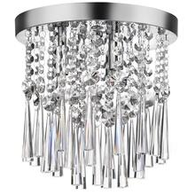 3lt Crystal Flush-mount Fixture