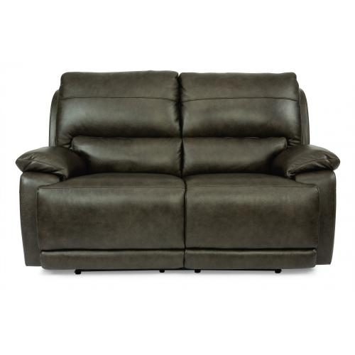 Horizon Power Reclining Loveseat with Power Headrests