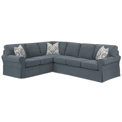 Masquerade Slipcover Sectional Sofa