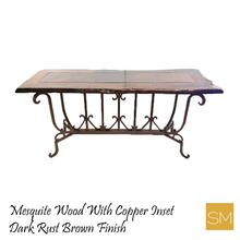 Mesquite Wood Large Console