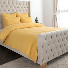 See Details - Danica Sunflower 4Pc King Quilt Set LE