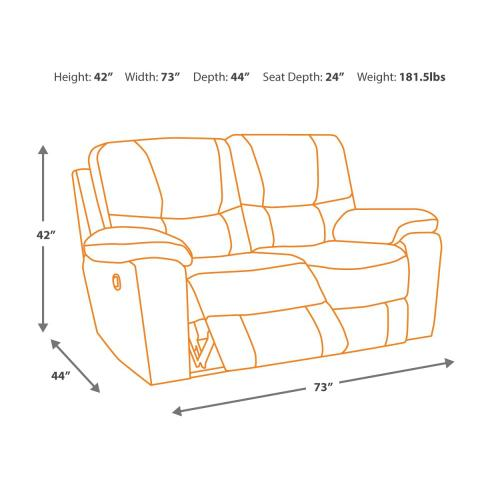 Hogan Reclining Loveseat