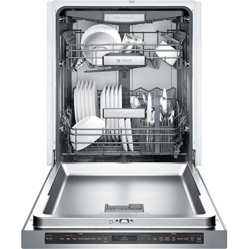 Bosch Canada - Benchmark® Dishwasher 24'' Stainless steel SHE89PW75N