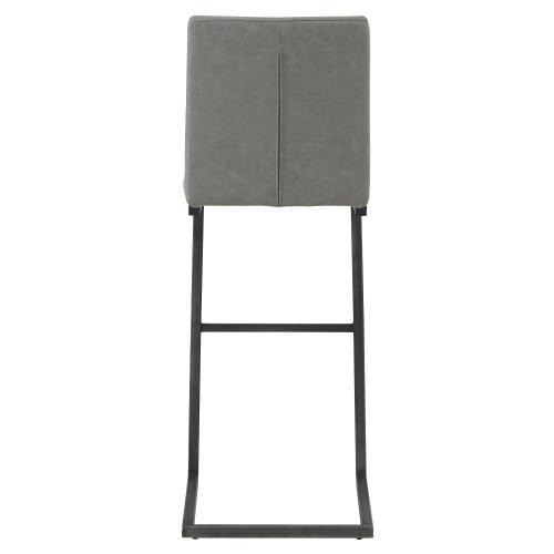 Product Image - Ronan KD PU Bar Stool, Antique Graphite Gray