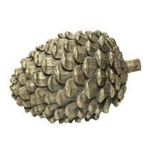 Faux Wood Pinecone