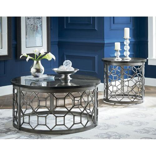 Standard Furniture - Equinox Cocktail Table, Grey