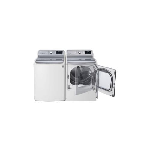 LG - 5.7 cu.ft. Mega Capacity Top Load Washer With TurboWash® Technology