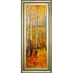 """Vivid Birch Forest Il"" By Tim Otoole Framed Print Wall Art"