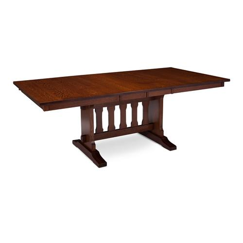 Franklin Trestle II Table, 4 Leaf